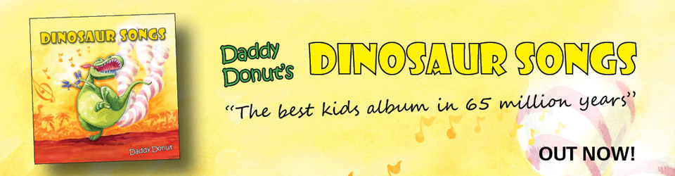 Dinosaur Songs by Daddy Donut