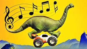 The car-driving brachiosaurus